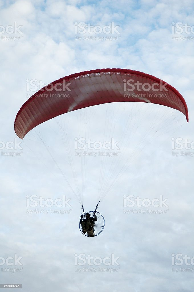 paragliding 5 royalty-free stock photo