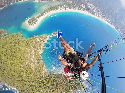 Paragliding on Oludeniz Fethiye