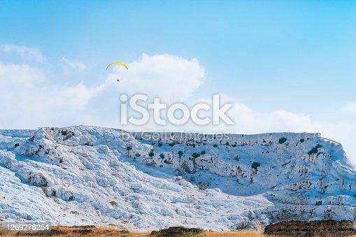 Pamukkale, Turkey - Middle East, Geyser, Hot Spring, Rock - Object, Landscape - Scenery, Limestone