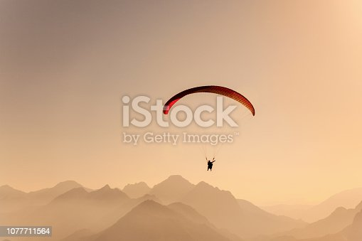 Paragliding is an Adrenalin-filled sport.