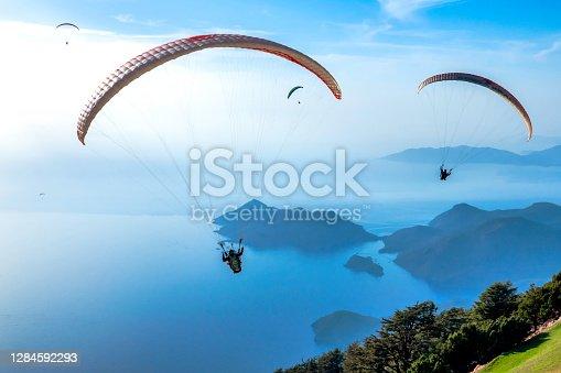 Tandem Paragliding at famous destinations at oludeniz/Fethiye/Turkey