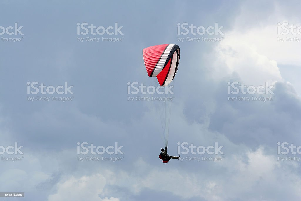 Paraglyder stock photo