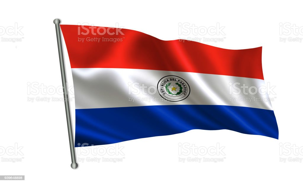 Bandera de Paraguay. Una serie de