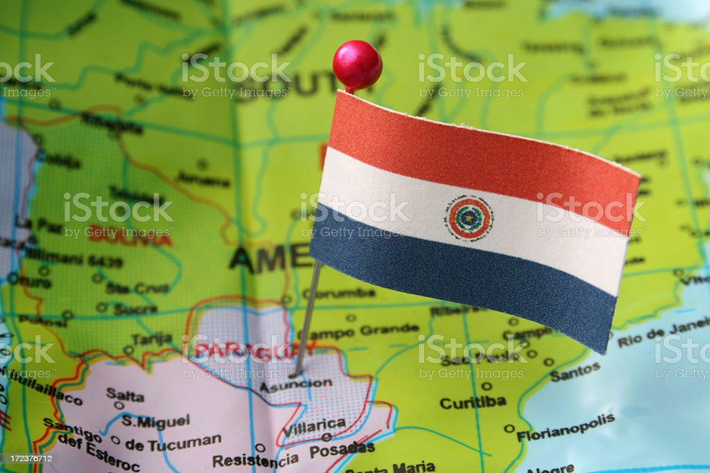 Paraguay stock photo