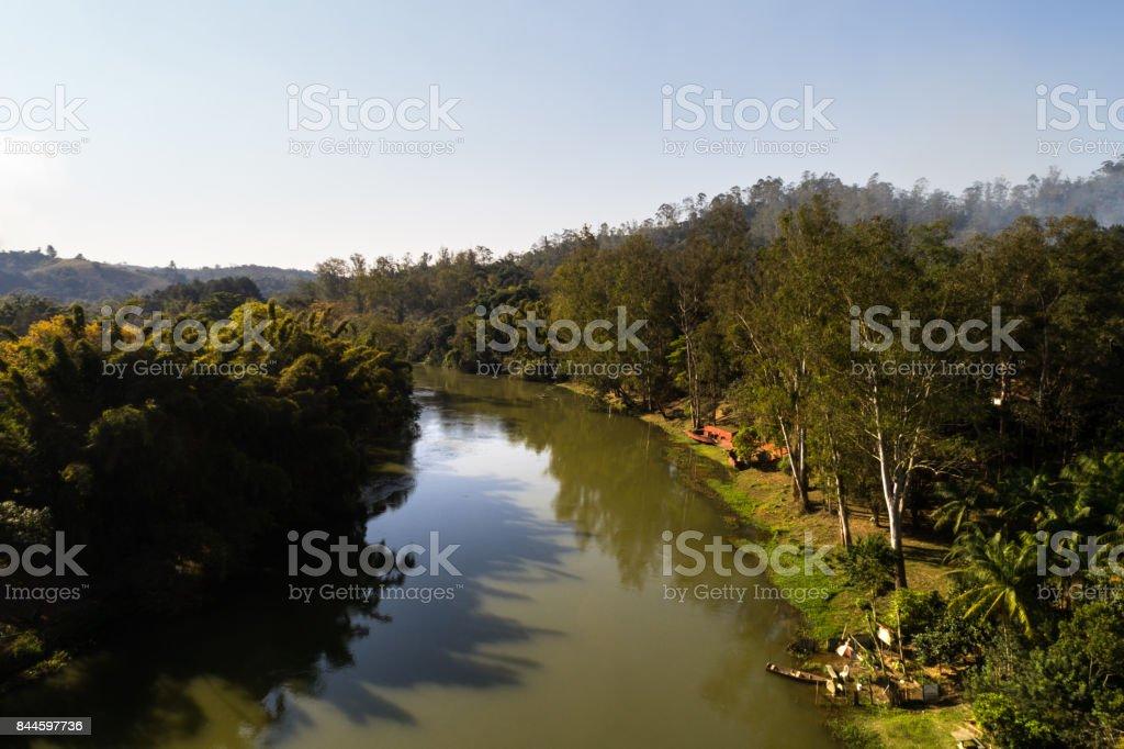 Rio Paraíba no Brasil - foto de acervo