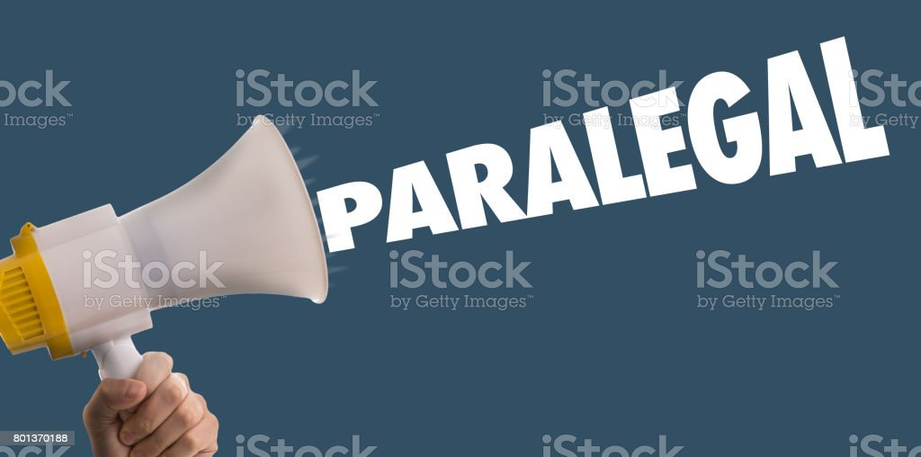 Paralegal stock photo