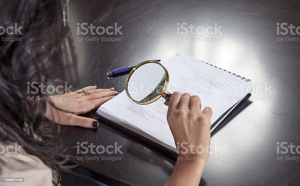 Paralegal Woman stock photo