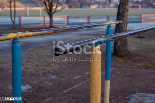 parallel bars for street sports lovers and workout lovers