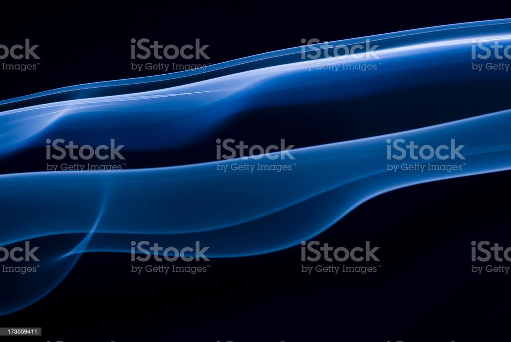 Parallel Blue waves background stock photo