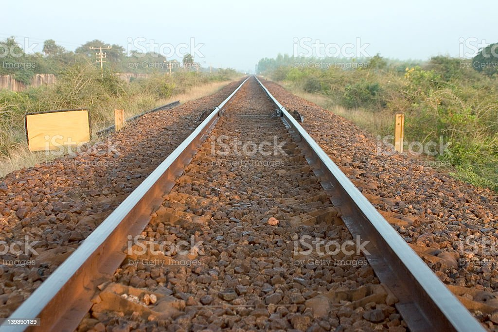 Parallel Lines royalty-free stock photo
