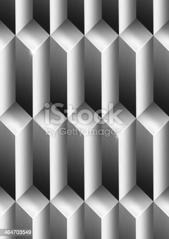 96897092istockphoto Parallelepipeds Metal Background 464703549
