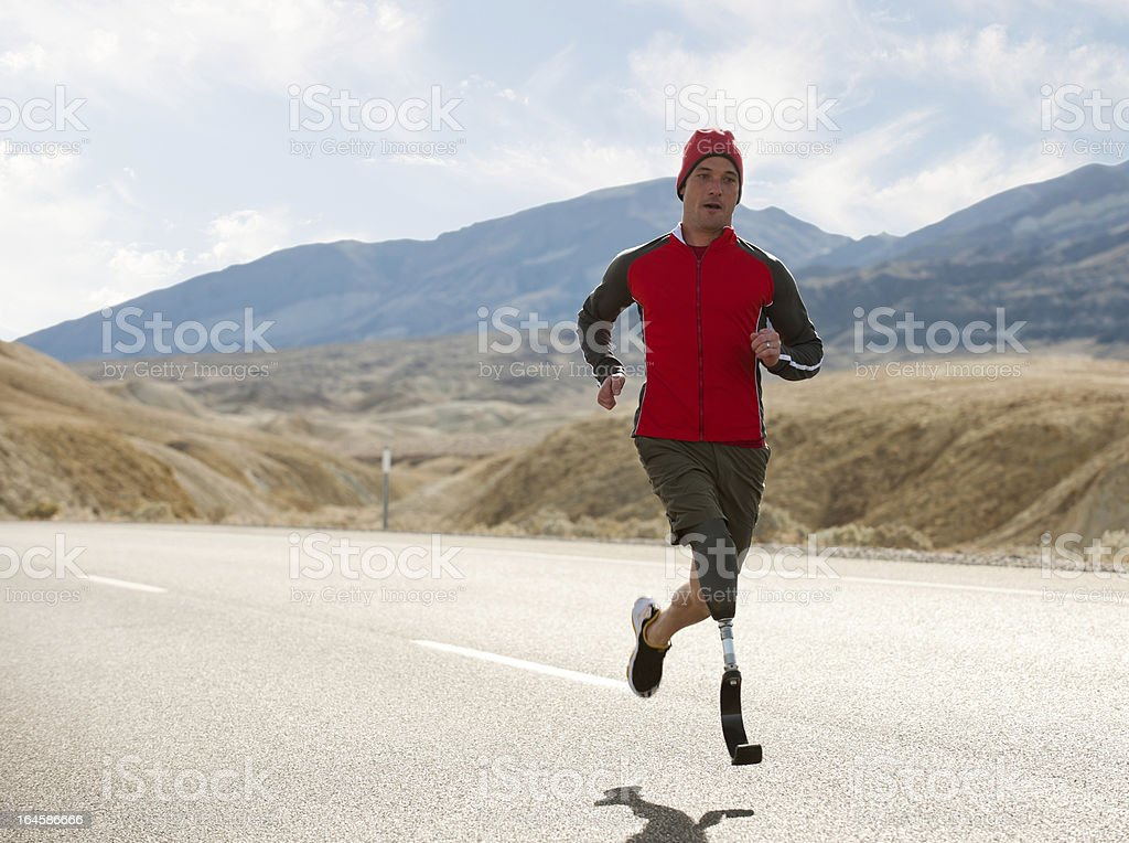 Paralympics stock photo