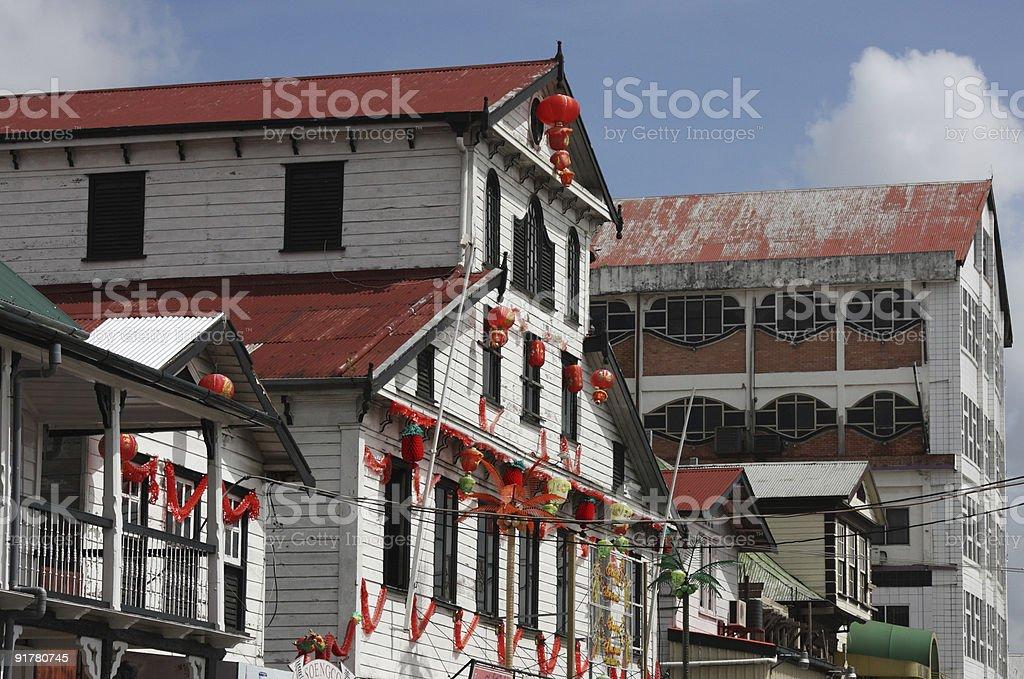 Paramaribo, Suriname, cityscape stock photo