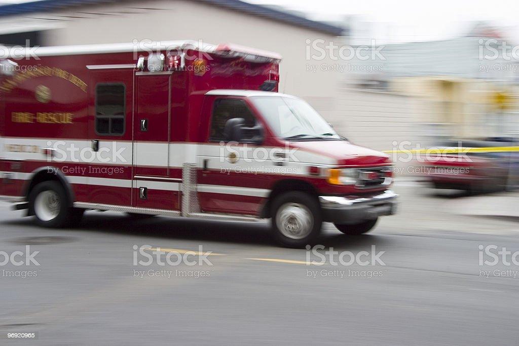Paramedic 3 royalty-free stock photo