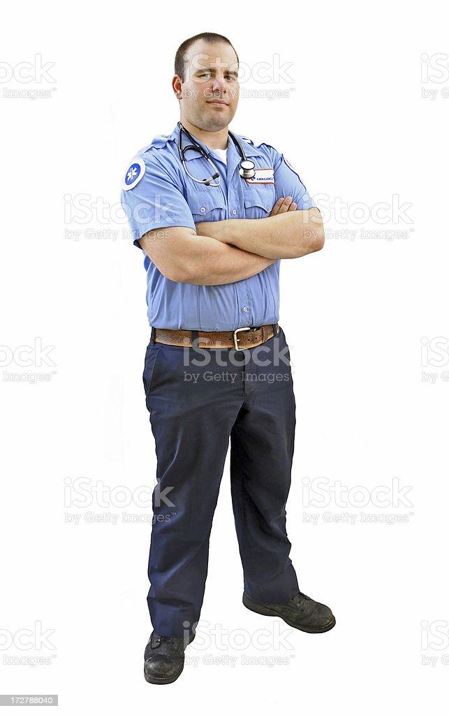 Paramedic stock photo