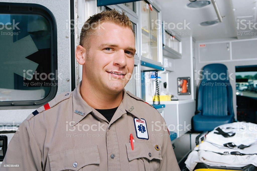 Auxiliaire médical, portrait - Photo
