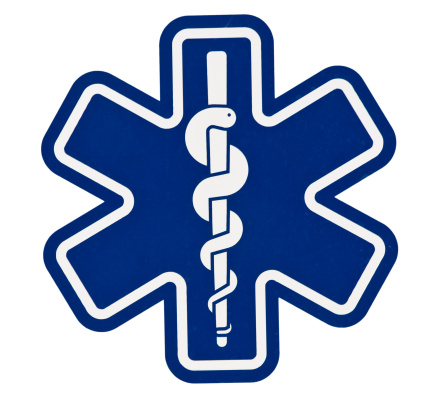 Paramedic Symbol ... Clipping Path