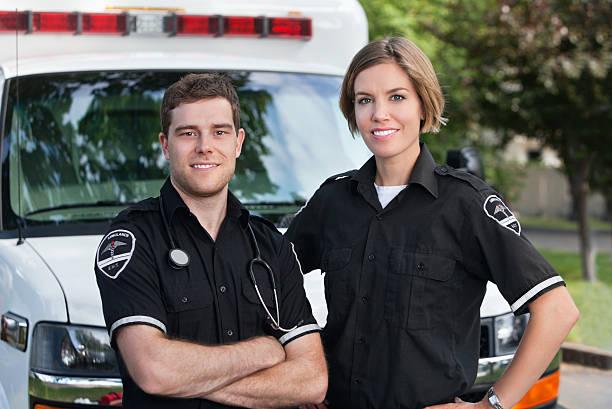 Paramedic Team stock photo