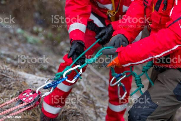 Photo of Paramedics mountain rescue service