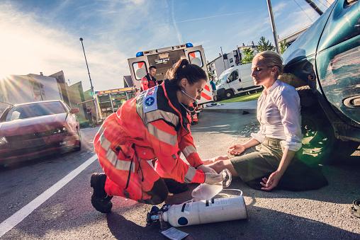 istock Paramedics providing first aid 841899528