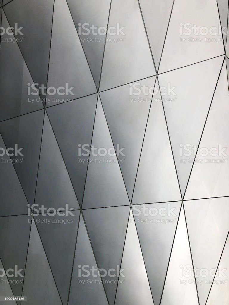 Parametric Aluminium Panels Facade Cladding Stock Photo - Download