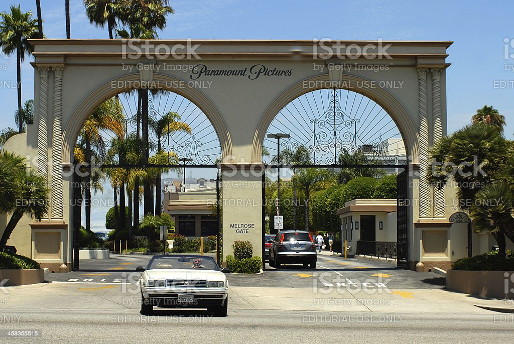 Paramount Pictures stock photo
