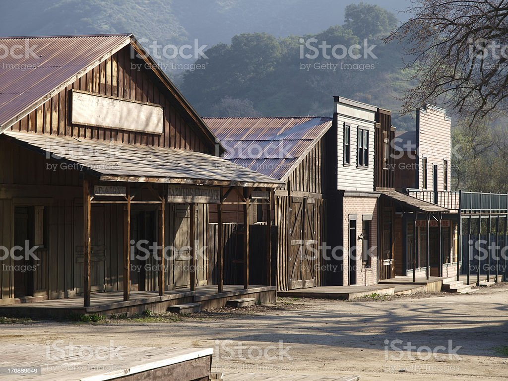 Paramount Ranch stock photo