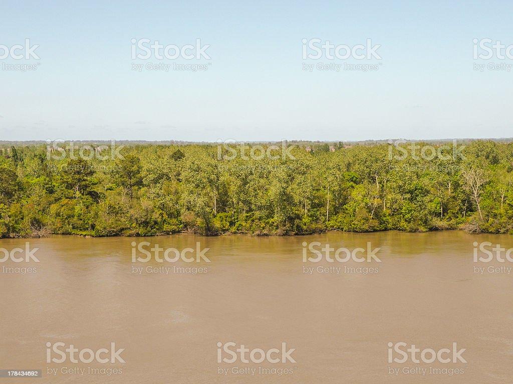 parana river royalty-free stock photo