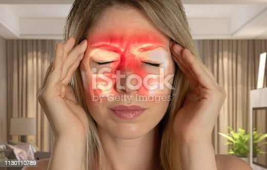 Paranasal Sinus, Sinusitis, Headache, Women, Emotional Stress