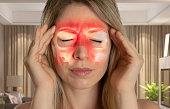 istock Paranasal Sinus - Sinusitis - Headache 1130110789