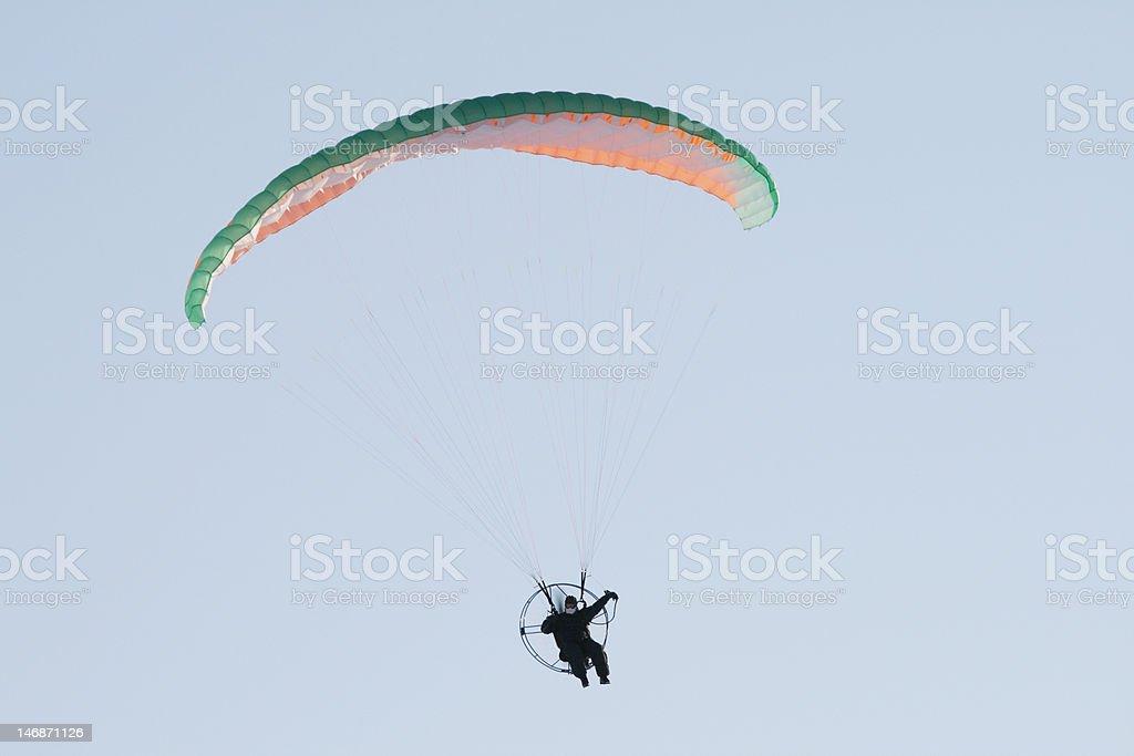 Paraplane royalty-free stock photo