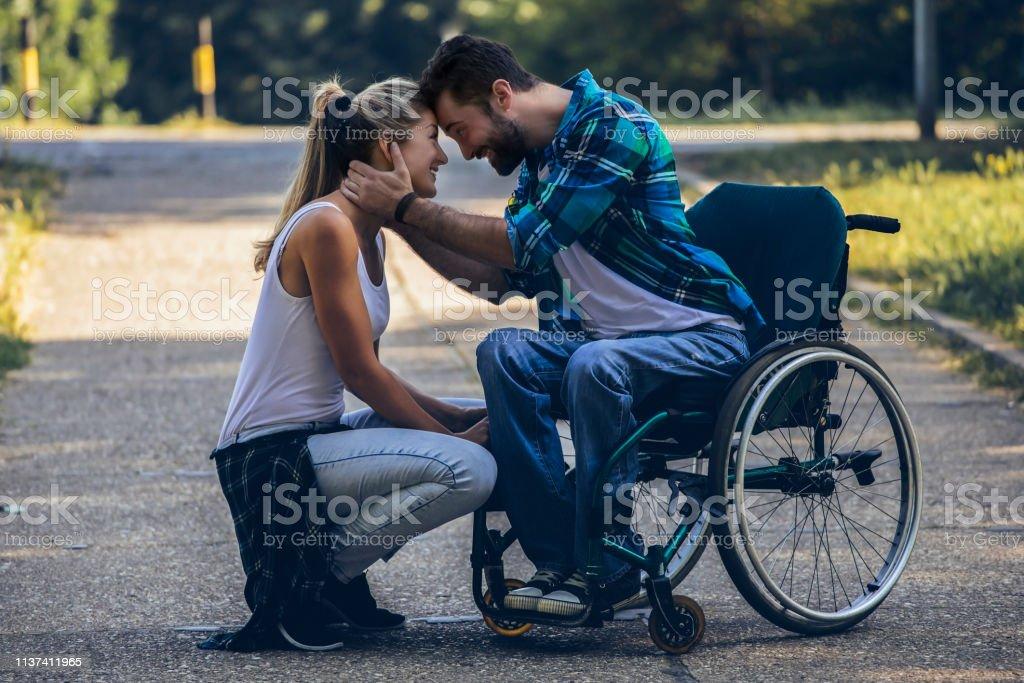 Paraplegic man dating