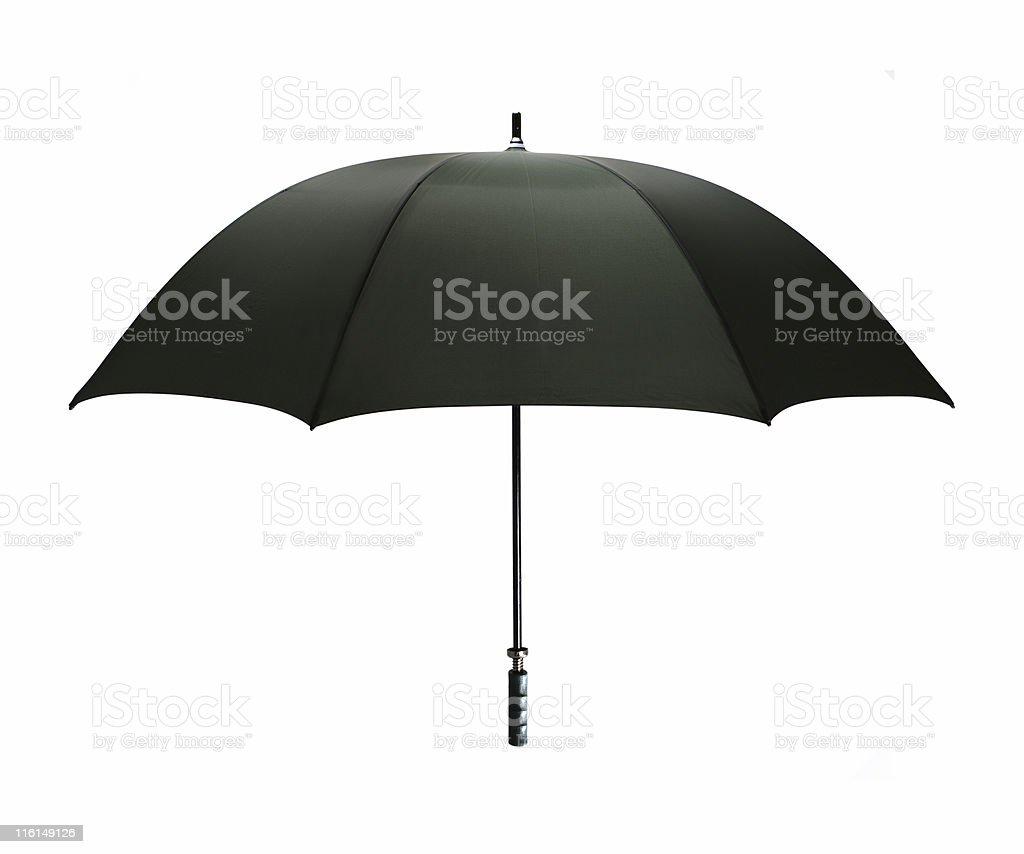 Parapluie noir stock photo