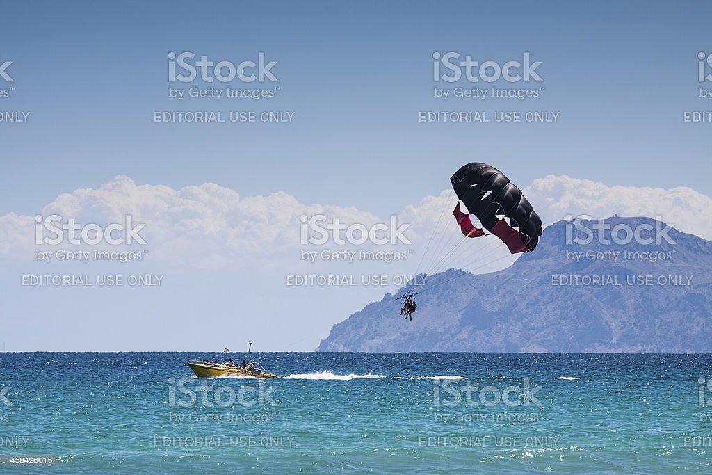parachute ascensionnel a majorque