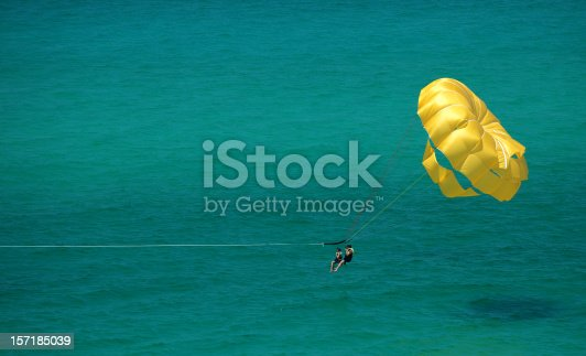 istock Parasailing in Paradise 157185039