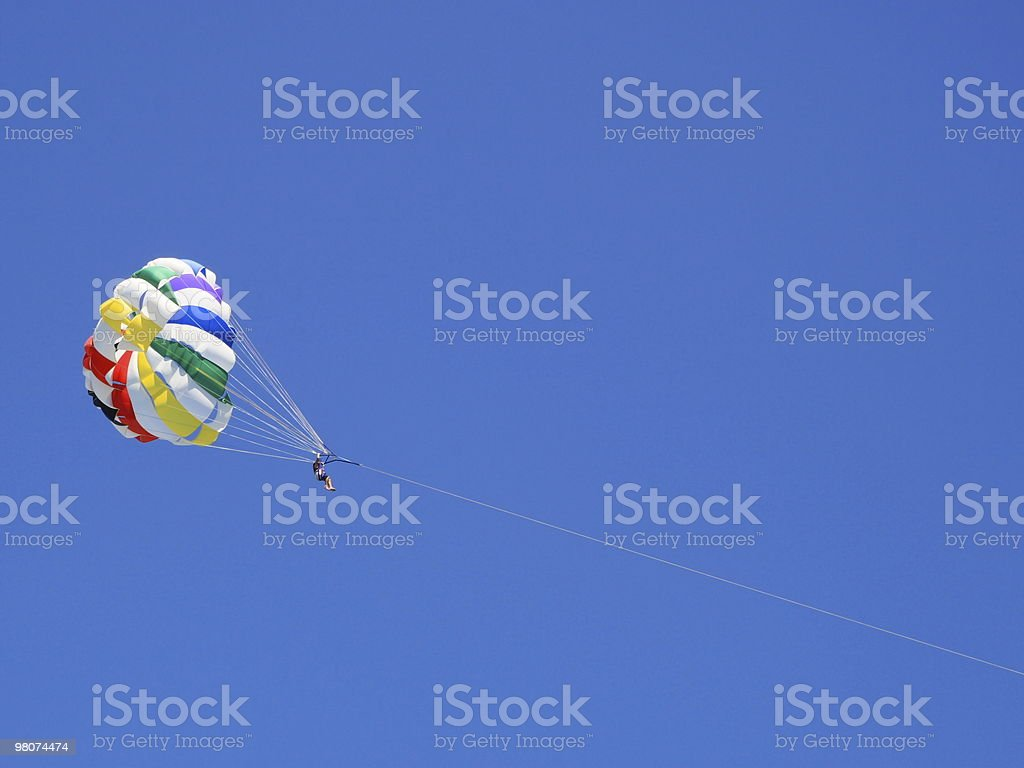 Parasailing royalty-free stock photo