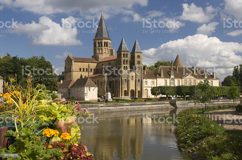 Paray-le-Monial stock photo