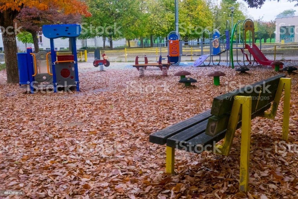 parc de jeux royalty-free stock photo
