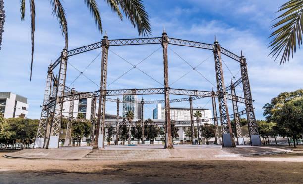 Parc De La Barceloneta-Barcelona-Spanien-Europa – Foto