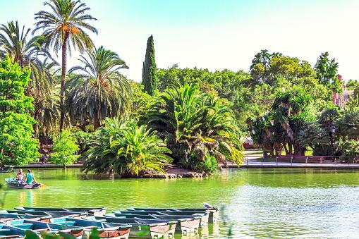 Parc de la Ciutadella, Barcelona.