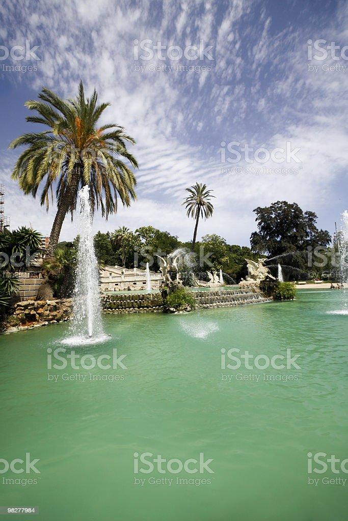 Parc de la Ciutadella in Barcelona, Spain royalty-free stock photo