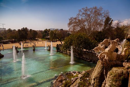 Parc de la Ciutadella - Water Fountain