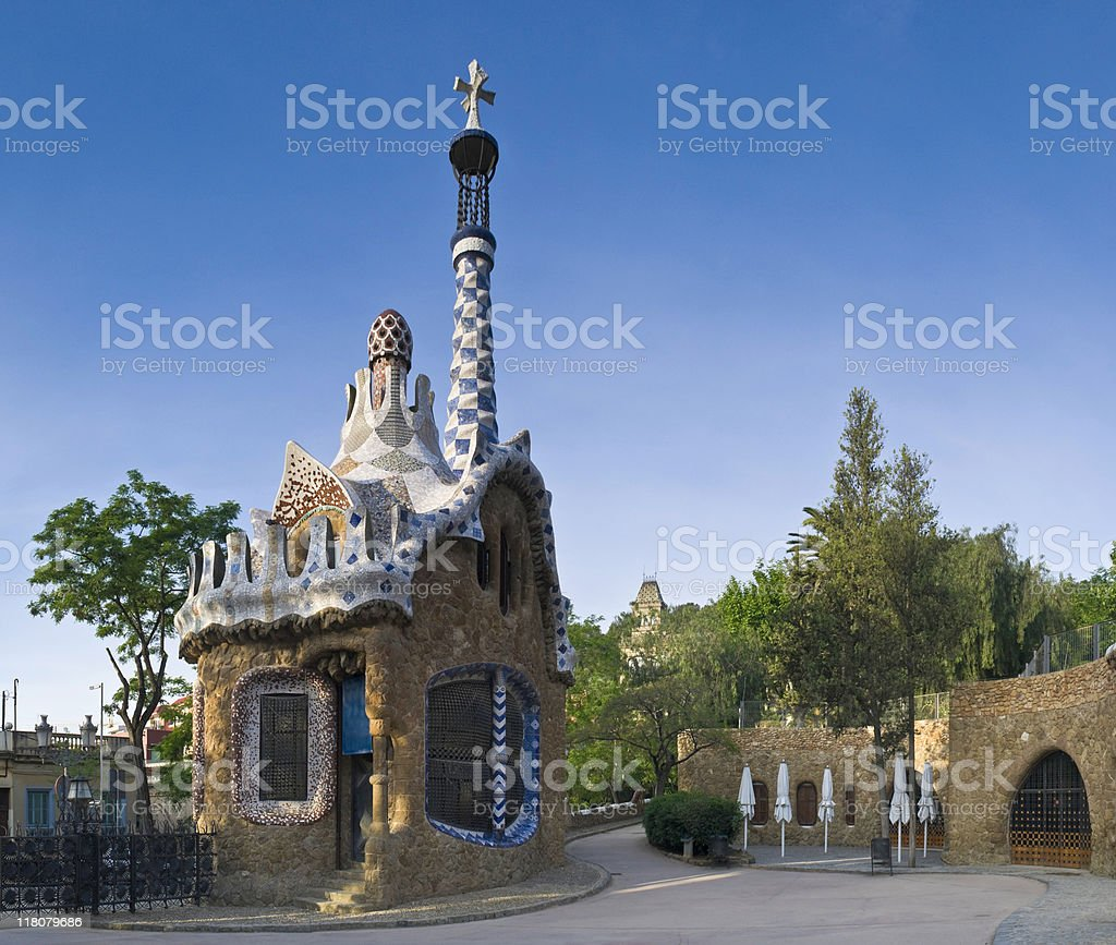 Parc Guell, Barcelona royalty-free stock photo