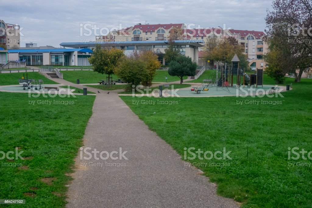 parc urbain royalty-free stock photo