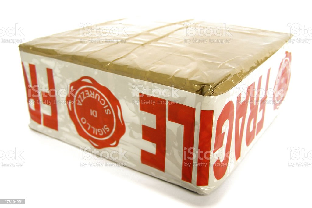 Parcel royalty-free stock photo