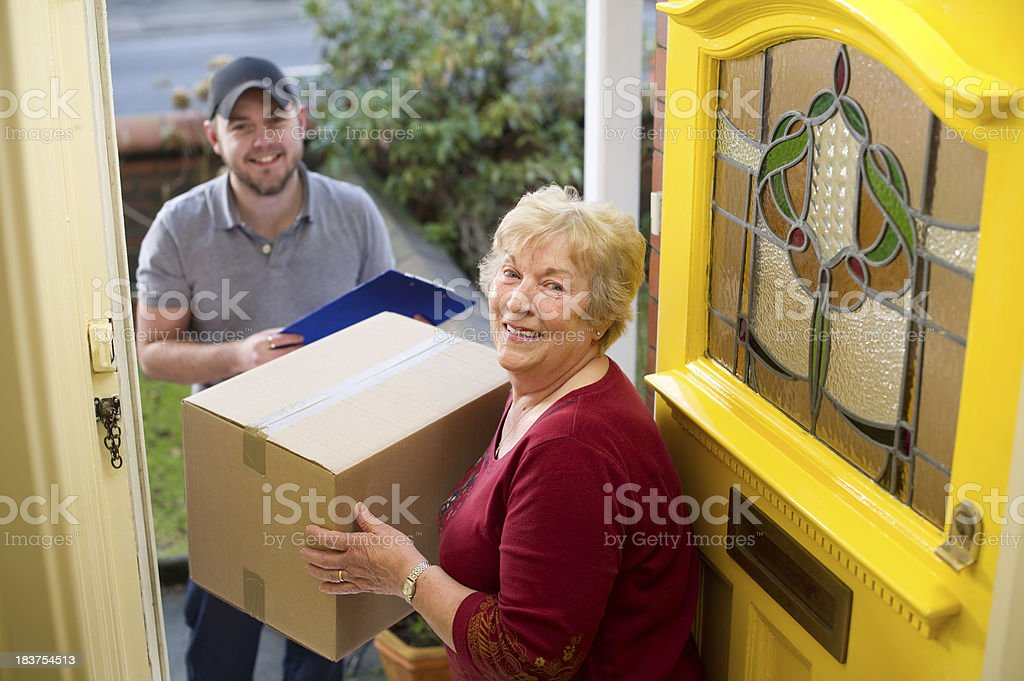 parcel time royalty-free stock photo