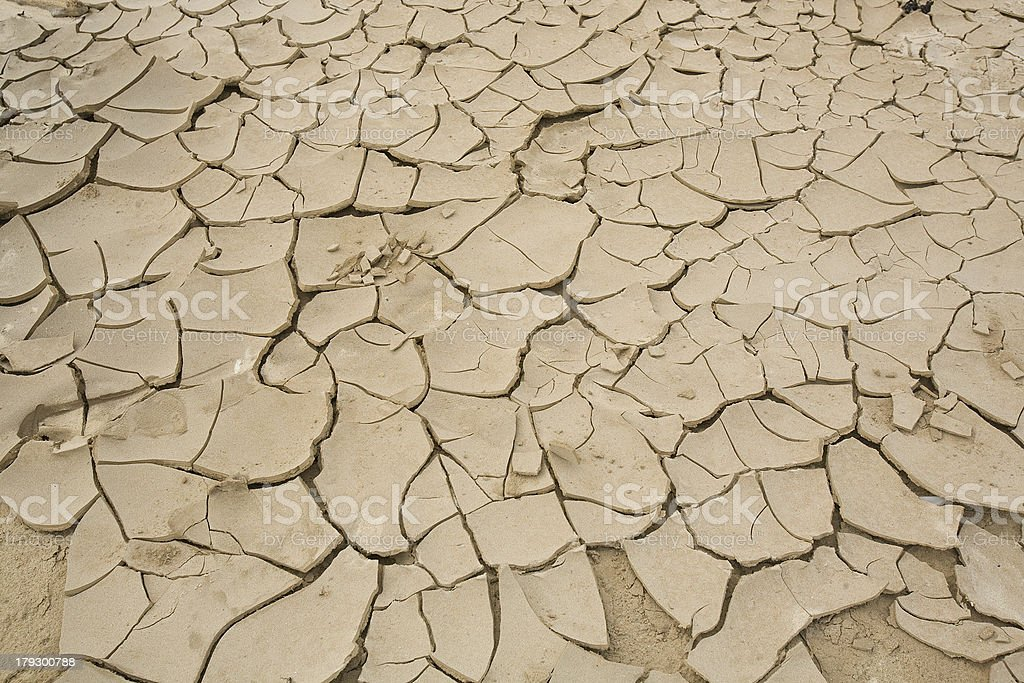 Parched Earth royalty-free stock photo