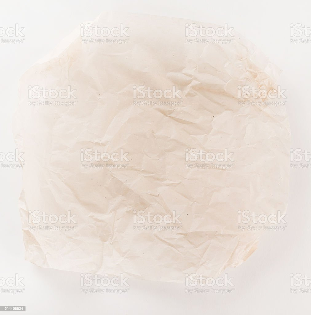 Parchment for baking culinary stock photo