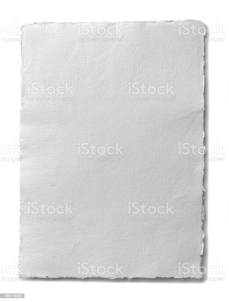 Parchment paper stock photo