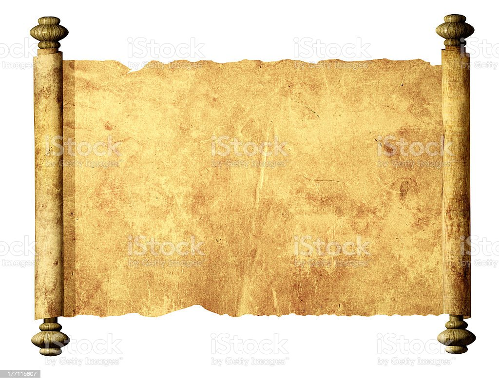 Parchment stock photo
